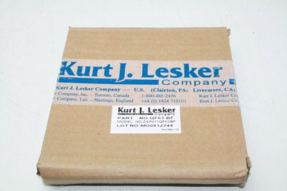 Kurt Lesker Blank Vacuum Flange Fitting Part No QF63 BK Model No ZAP011QF63BK New other see details 181047451046
