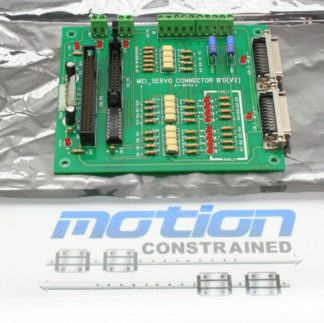 MEI Motion Engineering Motion Controller Servo Connector Board BS 990125 Used 181449616636