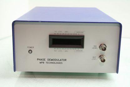 MPB Technologies PSD 2A014 Wideband Phase Demodulator Filtered Output Analyzer Used 171828272206