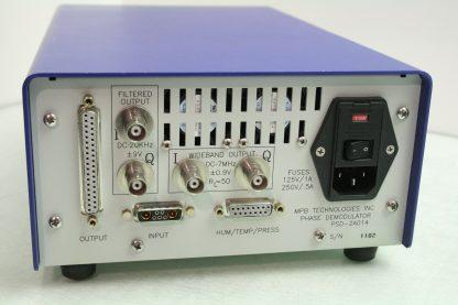 MPB Technologies PSD 2A014 Wideband Phase Demodulator Filtered Output Analyzer Used 171828272206 6