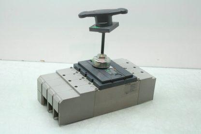 Merlin Gerin INSJ 400 Interpact Circuit Breaker 400A Molded Case w Handle Used 172129196566