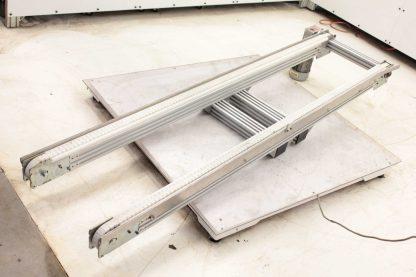 Modu Tek Aluminum Frame Conveyor w Nord 71L4 CUS Motor 05HP 18 Belt Width Used 172767978066 26