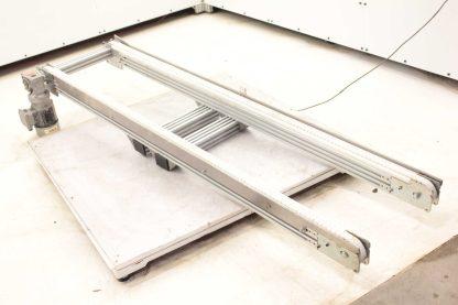 Modu Tek Aluminum Frame Conveyor w Nord 71L4 CUS Motor 05HP 18 Belt Width Used 172767978066