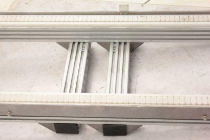 Modu Tek Aluminum Frame Conveyor w Nord 71L4 CUS Motor 05HP 18 Belt Width Used 172767978066 6
