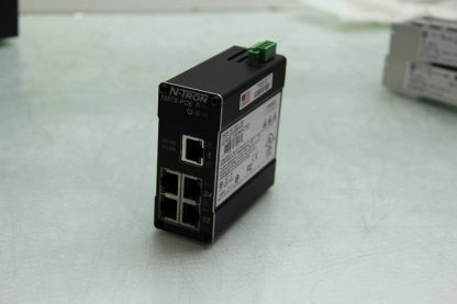 N Tron 105TX POE Industrial Ethernet Switch 5 Port with POE IEEE 8023 8023af Used 172097669818 6