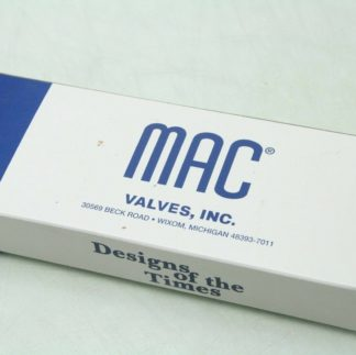 New MAC 800 Series 811C PP 611FA 152 24V DC Coil Solenoid Valve 14 NPT New 172054613346