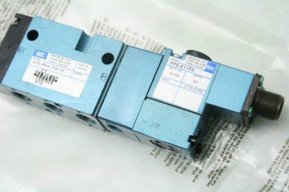 New MAC 800 Series 811C PP 611FA 152 24V DC Coil Solenoid Valve 14 NPT New 172054613346 4