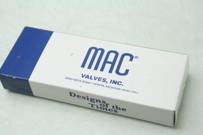New MAC 800 Series 811C PP 611FA 152 24V DC Coil Solenoid Valve 14 NPT New 172054613346