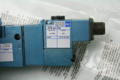 New MAC 800 Series 811C PP 611FA 152 24V DC Coil Solenoid Valve 14 NPT New 172054613346 5
