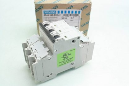New Siemens 5SJ4 340 8HG41 Circuit Breaker 3 Pole 40A 240V AC New other see details 171866224437 6