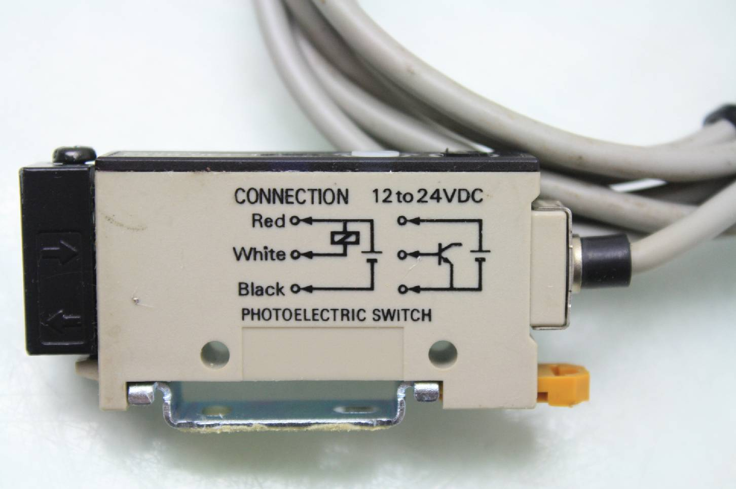 Omron E3xr He4 Fiber Optic Photoelectric Sensor Amplifier Used Switch Wiring