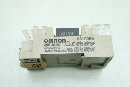 Omron G6D F4B Relay Terminal Block Relay 24V DC Coils Used 172604103156 19