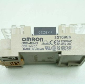 Omron G6D F4B Relay Terminal Block Relay 24V DC Coils Used 172604103156