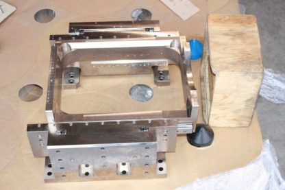 Precision Ground Steel Heavy Duty Two Axis Cross Roller Linear Actuator Stage Used 181196510716