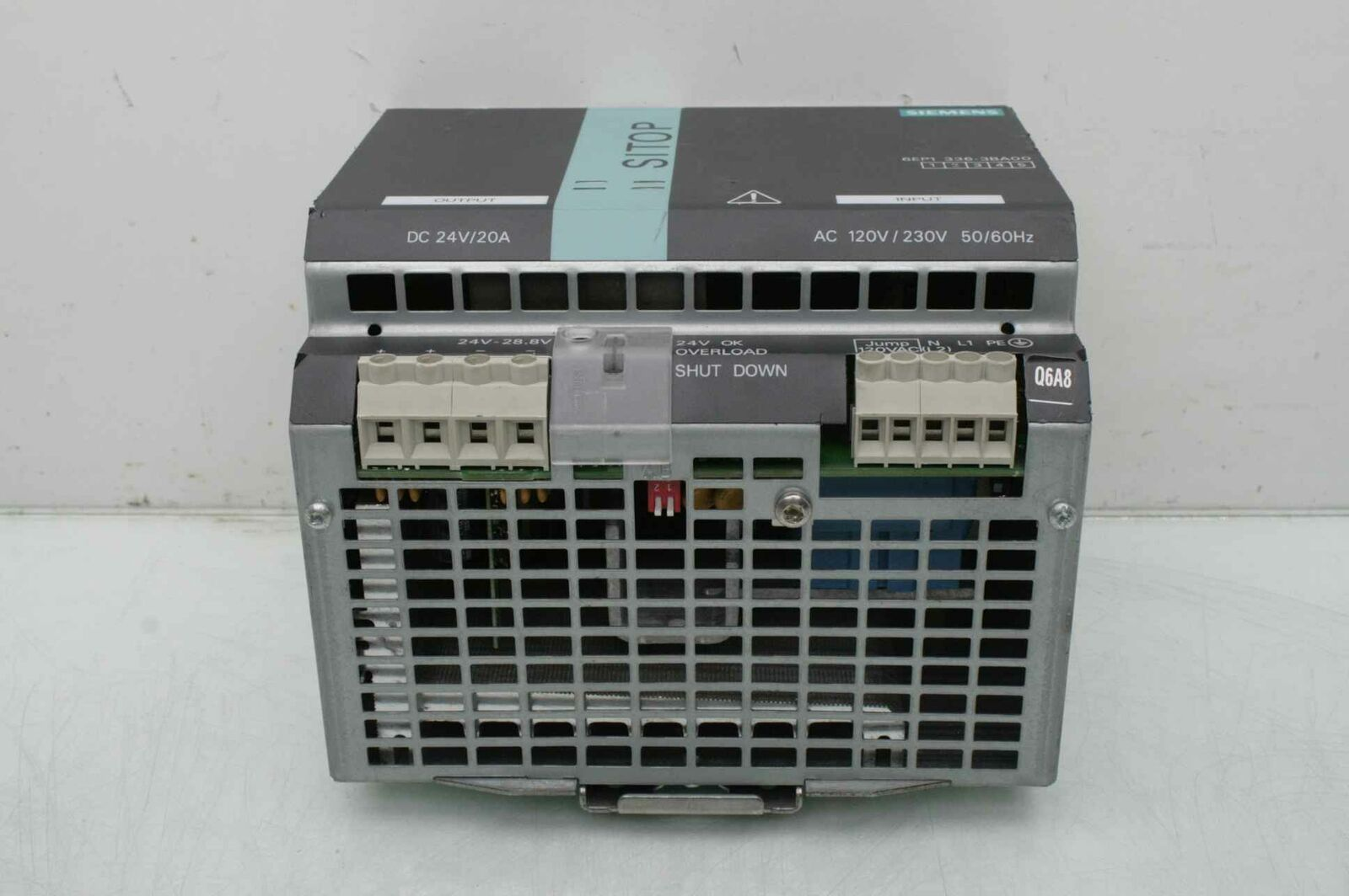 SIEMENS 6EP1336-3BA00 POWER SUPPLY AC 120V//230V 50//60 HZ