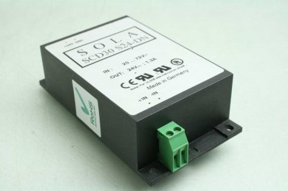 Sola SCD30 S24 DN Switching Power Supply DC DC Converter 30W 24VDC DIN Mount Used 172853181547 16
