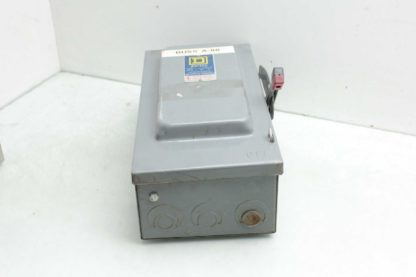 Square D H362 D2 Safety Switch 600 VAC 60 Amps 2 Pole Used 183198339706