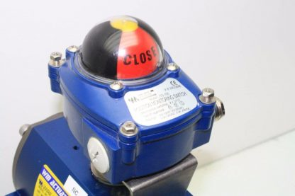 WireMatic AB Actuator WM 12 SR IS0 F05 43 with 2 NPT Stainless Ball Valve Used 181334475868 6