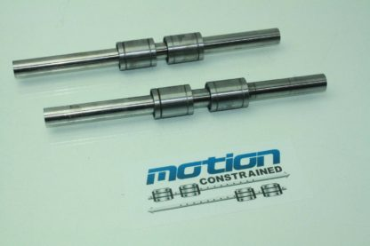 2 Star Pillow Block Ball Bushing Linear Bearings Sets 19mm Rod Diameter x 12 L Used 171041616967