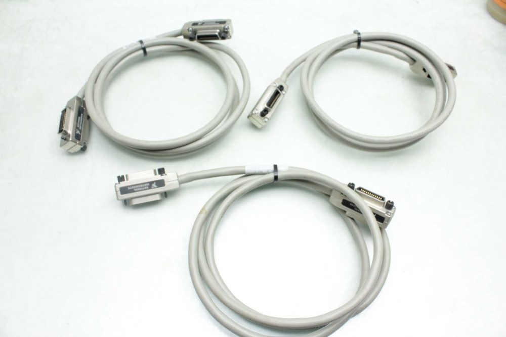 3 National Instruments 763061-02 Shielded GPIB Interface Cables / 2 ...