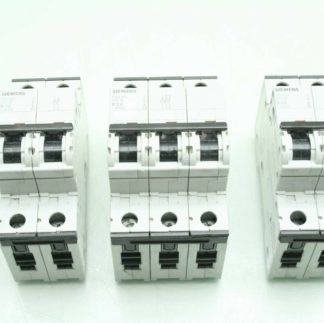 3 Siemens Circuit Breakers 5SY4210 6 5SY4320 6 5SY6532 8 10 Amps to 32 Amps Used 182560566477