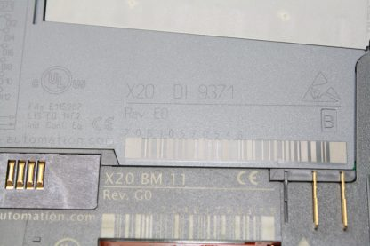 Bernecker Rainer X20 System Digital Input Module DI 9371 w BM11 Bus Connect New other see details 172129102078 7