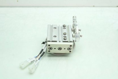 CKD STSB 1620 P73 Pneumatic Guided Air Cylinder T2H Limit Switches 16mm x 20mm Used 172568745389 17