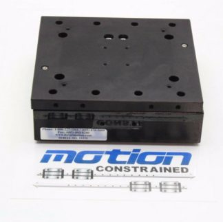 Dover Motion 6 Square Precision Aluminum Cross Roller Optical Linear Stage Used 171355110687