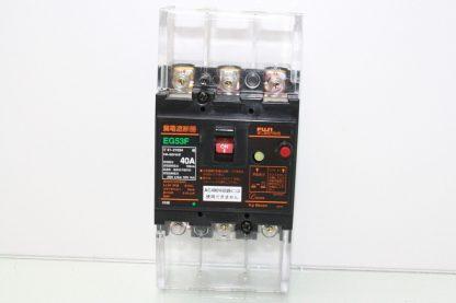 Fuji Electric EG53F Circuit Breaker 3 Pole 40A Trip DIN Mount Used 170952880667