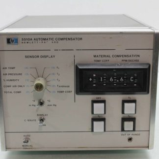 Hewlett Packard 5510A Automatic Compensator for Laser Transducer HP