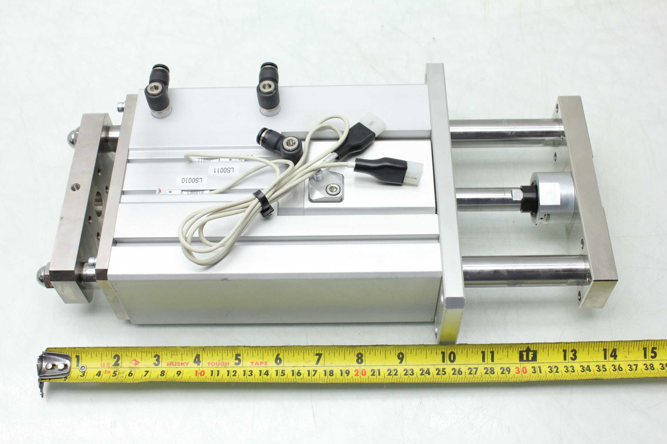 Koganei CRB-398W Pneumatic Guided Air Cylinder 20mm Bore x 80mm Stroke -  Used