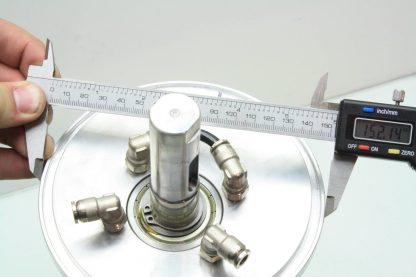Liquid Cooled Vacuum Chamber Spindle Housing 12 Long Nachi 6206ZE Bearings Used 171329797437 10
