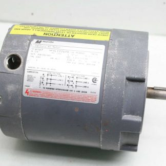MagneTek H157 Century AC Motor H157 3 Phase 14 HP 208 230460 Volts Used 183100988237
