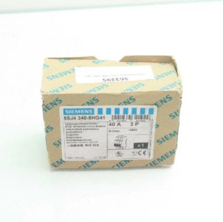New Siemens 5SJ4 340 8HG41 Circuit Breaker 3 Pole 40A 240V AC New other see details 171866224437