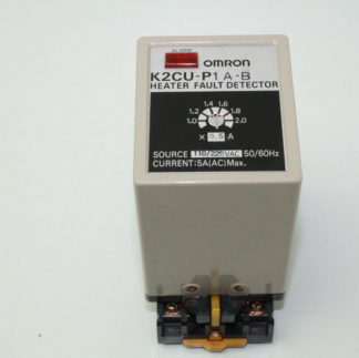Omron K2CU P1A B Heater Fault Detector 110220V AC 5A AC Heater Detector Used 172129102067