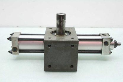 PHD R11A 3045 P B A Pneumatic Rotary Air Actuator 1 38 Bore 45 Degrees Used 172566395477 7