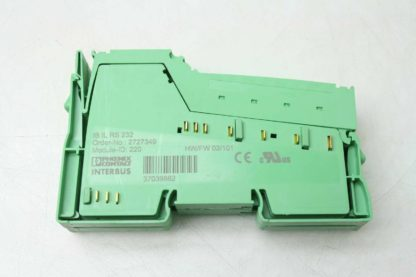 Phoenix Contact IB IL RS232 INTERBUS Inline Function Terminal Transmitter Used 172201557057 7