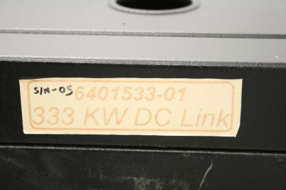 Precision Inc AE Solar DC Rectifier Power Filter 333 kW 1200V DC 500 Amps Used 172525734202 27