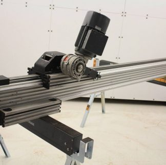 RK Rose Krieger Belt Driven Electric Linear Actuator with 2 Blocks 71 Travel Used 171795353207