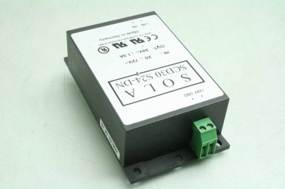 Sola SCD30 S24 DN Switching Power Supply DC DC Converter 30W 24VDC DIN Mount Used 172853181547 17