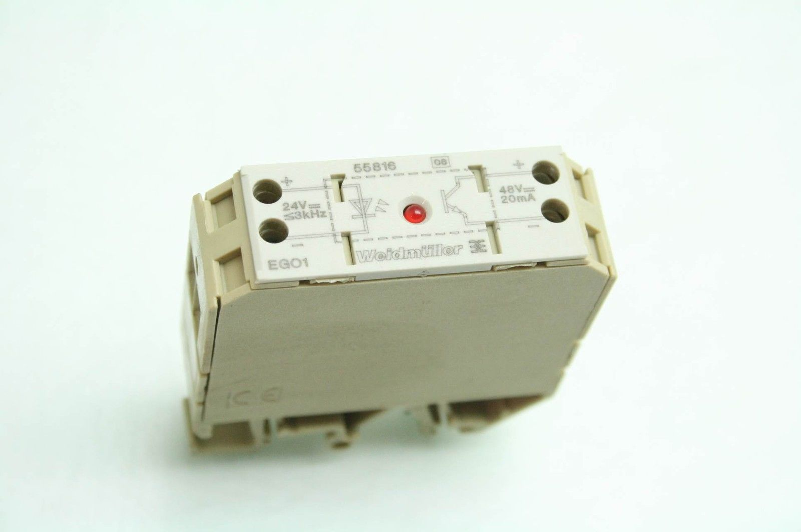 Weidmuller Ego1 55816 High Frequency Solid State Relay 24v
