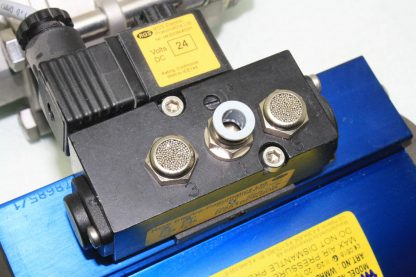 WireMatic AB Actuator WM 12 SR IS0 F05 43 with 2 NPT Stainless Ball Valve Used 181334475868 17