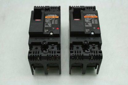 2 Fuji Electric EA32AC BB2AEAC 030 Circuit Breaker 30A Double Pole Used 172620157738