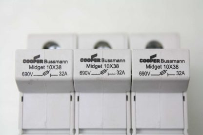 3 Cooper Bussmann CHM 10X38 3 Pole Compact Circuit Protectors 600V 30A Used 172200204173 8