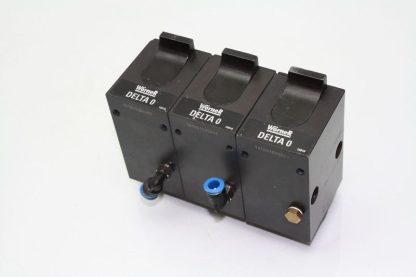 3 Worner Delta 0 Pneumatic Air Shock Damper Stop Actuator Used 170949262508