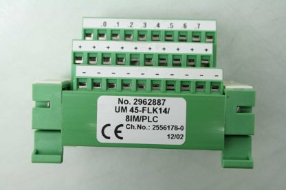 6 Phoenix Contact UM45 FLK148IMPLC Varioface Sensor Breakout Board 2962887 Used 172398769798 18