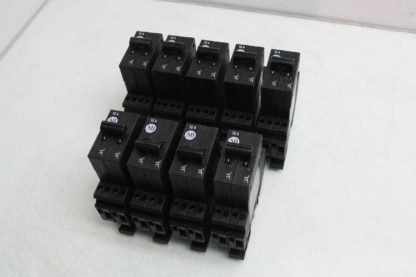 9 Allen Bradley 1492 GS2G150 Two Pole Circuit Breakers 15A 277V AC Used 172157102148
