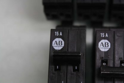 9 Allen Bradley 1492 GS2G150 Two Pole Circuit Breakers 15A 277V AC Used 172157102148 5