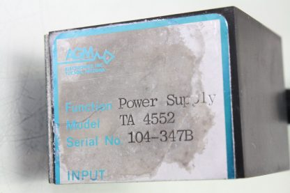 AGM Electronics TA 4552 Power Supply 115V AC 24V DC Output Signal Conditioning Used 172124059038 6