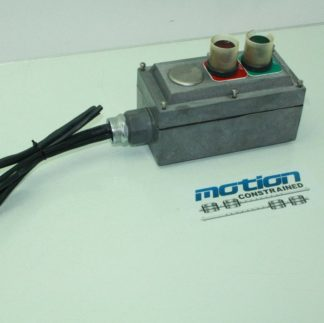 Allen Bradley 800H QRAH24 Momentary Pushbutton Switches RedGreen in Enclosure Used 171041744158